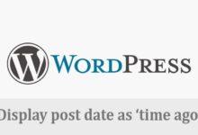 """Photo of Cara Membuat """"Time Ago"""" sebagai Post Date Tiap Postingan Wordpress"""