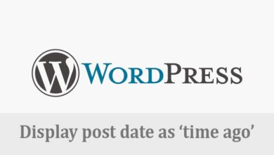 "Photo of Cara Membuat ""Time Ago"" sebagai Post Date Tiap Postingan Wordpress"