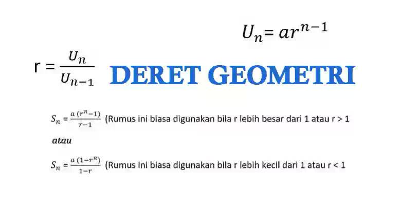 Cara Menghitung Deret Geometri Agoaga