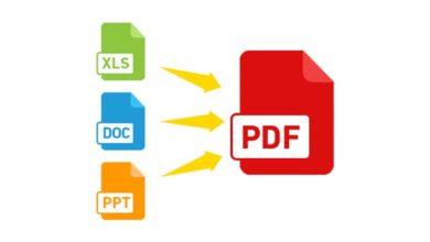 Photo of Cara Simpan atau Konversi Lembar Kerja Office Word dan Excel ke PDF